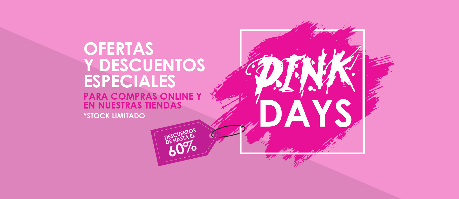 Pink Days de Audali · Descuentos especiales