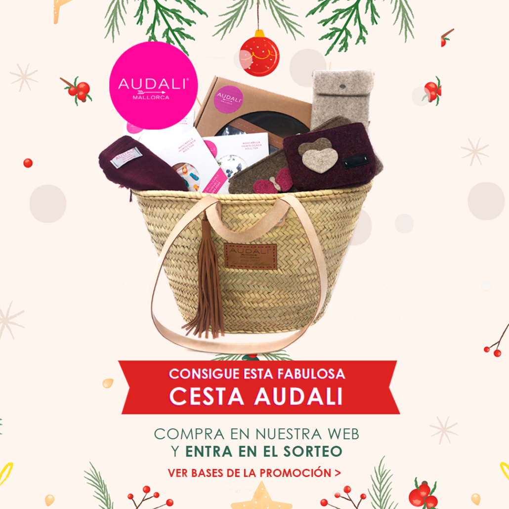Compra en nuestra web y gana esta fabulosa cesta Audali
